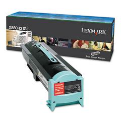 Lexmark X850H21G Toner, 30000 Page-Yield, Black