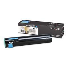 Lexmark X945X2CG High-Yield Toner, 22000 Page-Yield, Cyan