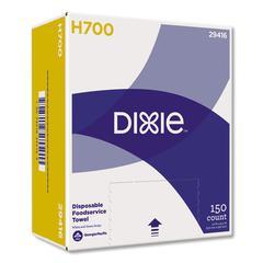 Dixie H700 Disposable Foodservice Towel, 13 x 24, 150/Carton