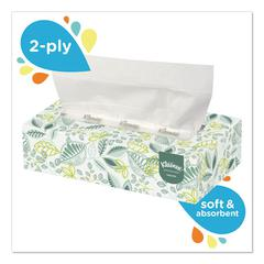 Naturals Facial Tissue, 2-Ply, White, 125 Sheets/Box, 48 Boxes/Carton