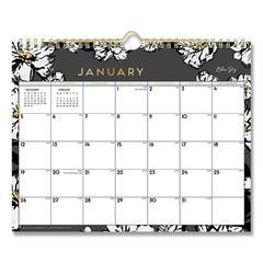 Baccara Dark Wall Calendar, 11 x 8 3/4, 2020