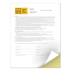 Revolution Digital Carbonless Paper, 2-Part, 8 1/2 x 11, Canary/White, 5000/CT
