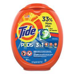 Detergent Pods, Tide Original Scent, 96/Tub