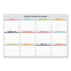 Dabney Lee Ollie Laminated Wall Calendar, 36 x 24, 2020; 2019-2020