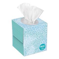 Cool Touch Facial Tissue, 2-Ply, White, 45 Sheets/Box, 27 Boxes/Carton