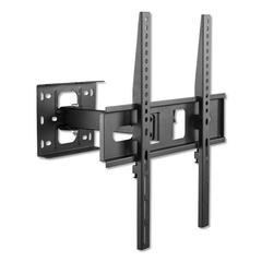 "Full-Motion TV Wall Mount, For Monitors 32"" up to 55"", 3/4"" x 1/2"" x 1 5/8"""