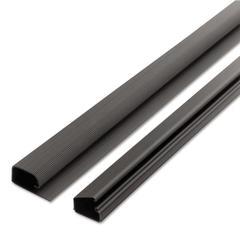 1-1/2 Locking Channel, Black, 1/Pack