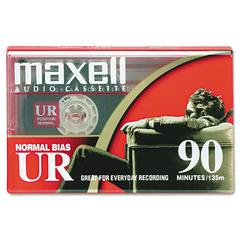 Maxell Dictation & Audio Cassette, Normal Bias, 90 Minutes (45 x 2)
