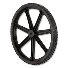 "Wheel for 5642, 5642-61 Big Wheel Cart, 20"" diameter, Black"