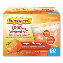 Immune Defense Drink Mix, Original Formula, Super Orange, 0.32 oz Packet, 60/Pack