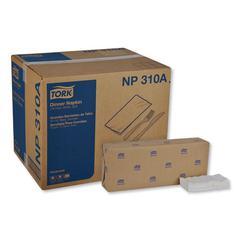 """Advanced Dinner Napkins, 2 Ply, 15"""" x 16.25"""", 1/8 Fold, White, 375/Packs, 8 Packs/Carton"""