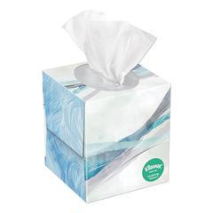 Lotion Facial Tissue, 2-Ply, White, 65 Sheets/Box, 27 Boxes/Carton