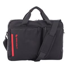 "Stride Executive Briefcase, Holds Laptops 15.6"", 4"" x 4"" x 11.5"", Black"