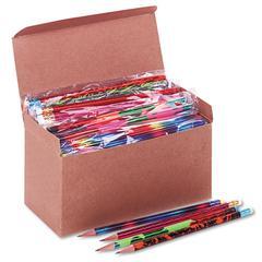 Woodcase Pencil, Treasure Assortment, HB #2, 144/Box