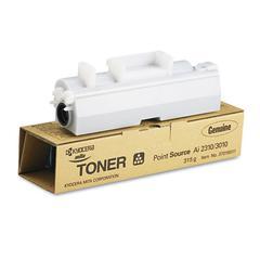 Mita 37016011 Toner, 10000 Page-Yield, Black