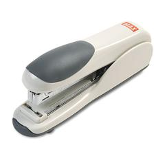Flat-Clinch Standard Stapler, 30-Sheet Capacity, Gray