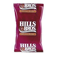 Hills Bros. Original Coffee, 1.5oz Packet, 42/Carton