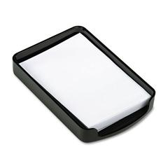 Officemate 2200 Series Memo Holder, Plastic, 4w x 6d, Black