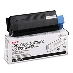 42804504 Toner (Type C6), 3000 Page-Yield, Black