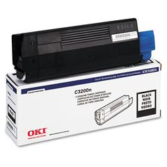 43034804 Toner (Type C6), 1500 Page-Yield, Black