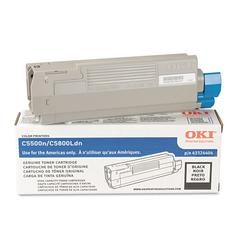 43324404 High-Yield Toner (Type C8), 5000 Page-Yield, Black