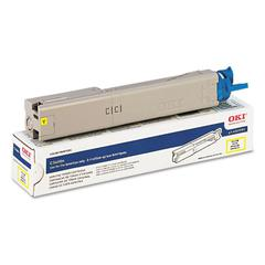 43459301 High-Yield Toner, 2000 Page-Yield, Yellow