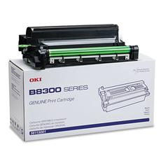 Oki 56115001 Toner, 27000 Page-Yield, Black