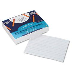 Pacon Multi-Program Handwriting Paper, 16 lbs., 8 x 10-1/2, White, 500 Sheets/Pack