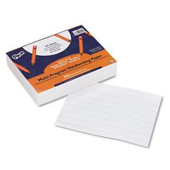 "Multi-Program Handwriting Paper, 5/8"" Long Rule, 8 x 10.5, 500/Pack"
