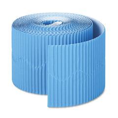 """Pacon Bordette Decorative Border, 2 1/4"""" x 50' Roll, Brite Blue"""