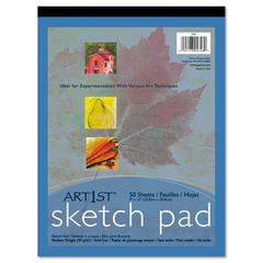 Art1st Sketch Pad, 60 lb, 9 x 12, White, 50 Sheets
