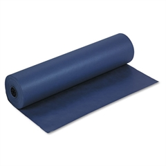"Pacon Spectra ArtKraft Duo-Finish Paper, 48 lbs., 36"" x 1000 ft, Dark Blue"