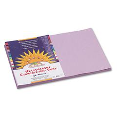 Construction Paper, 58 lbs., 12 x 18, Lilac, 50 Sheets/Pack