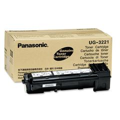 Panasonic UG3221 Toner, 6000 Page-Yield, Black
