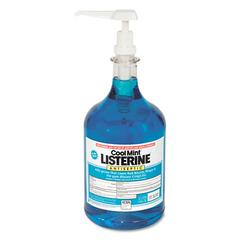 Johnson & Johnson Listerine Cool Mint Mouthwash, 1 Gallon Pump