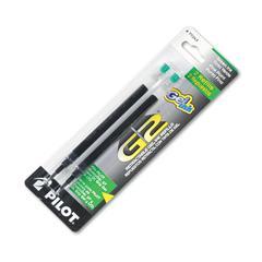 Pilot Refill for G2 Gel, Dr. Grip Gel/Ltd, ExecuGel G6, Q7, Fine Tip, Green, 2/Pack