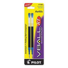 Refill for V Ball Retractable Rolling Ball Pen, Fine, Blue Ink
