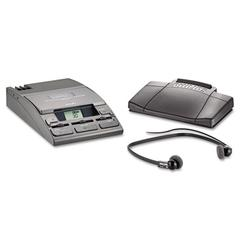 Philips 720-T Desktop Analog Mini Cassette Transcriber Dictation System w/Foot Control