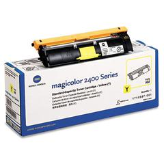 Konica Minolta 1710587001 Toner, 1500 Page-Yield, Yellow