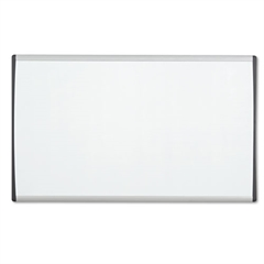 Quartet Magnetic Dry-Erase Board, Steel, 14 x 24, White Surface, Silver Aluminum Frame