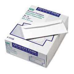 Park Ridge Embossed Executive Envelope, #10, 4 1/8 x 9 1/2, White, 500/Box