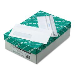 1-Window Redi Seal Envelope, #10, 4 1/8 x 9 1/2, White, 500/Box
