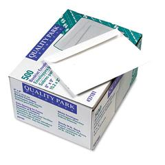 Open Side Booklet Envelope, #55, 6 x 9, White, 500/Box