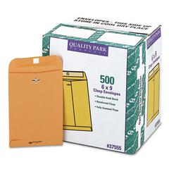 Clasp Envelope, #55, 6 x 9, 28lb, Brown Kraft, 500/Carton