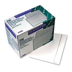 Open Side Booklet Envelope, 12 x 9, White, 250/Box