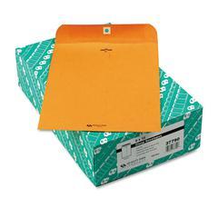 Quality Park Clasp Envelope, 9 x 12, 32lb, Brown Kraft, 100/Box