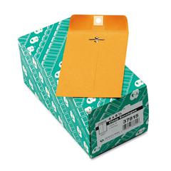 Clasp Envelope, 4 x 6 3/8, 28lb, Brown Kraft, 100/Box