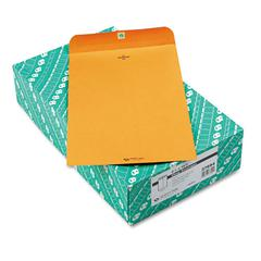 Quality Park Clasp Envelope, 9 1/4 x 14 1/2, 28lb, Brown Kraft, 100/Box