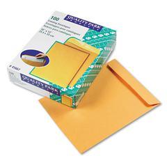 Quality Park Catalog Envelope, 10 x 13, Brown Kraft, 100/Box