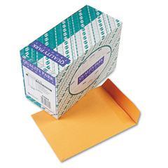 Quality Park Redi-Seal Catalog Envelope, 9 x 12, Brown Kraft, 250/Box